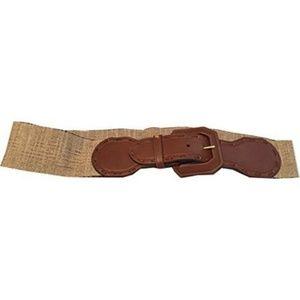 Lauren Ralph Lauren Accessories - Lauren Ralph Lauren Women's Stretch Belt Tan